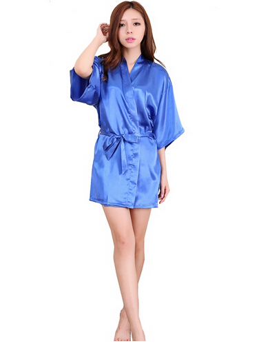 Short Satin Touch Night Gown  3