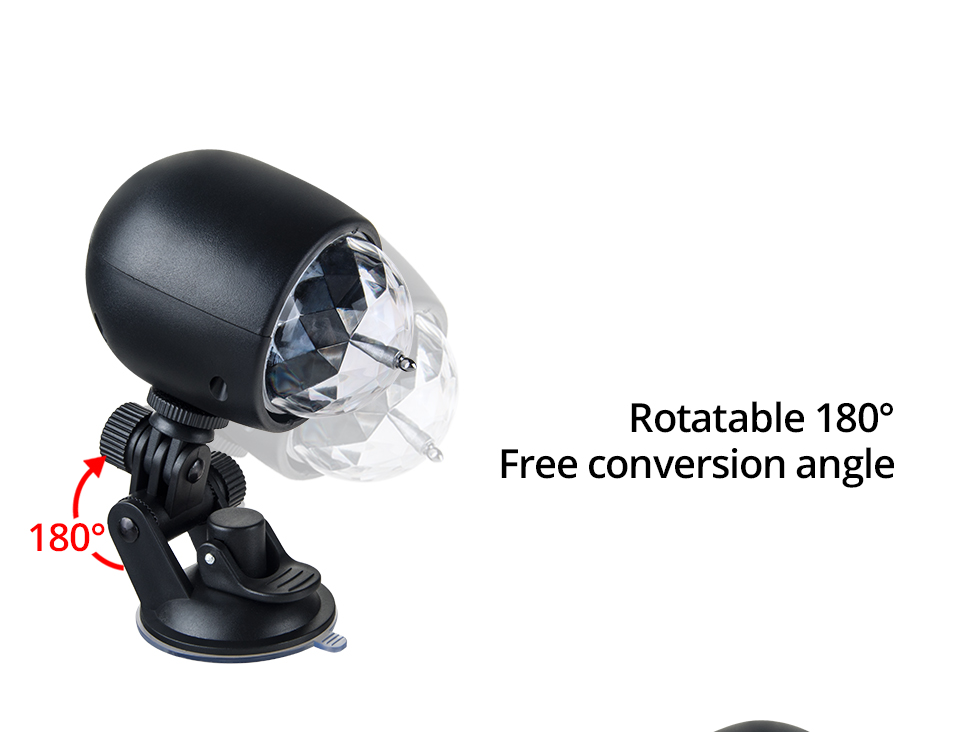 Car-mounted stage lights Adsorbable (9)