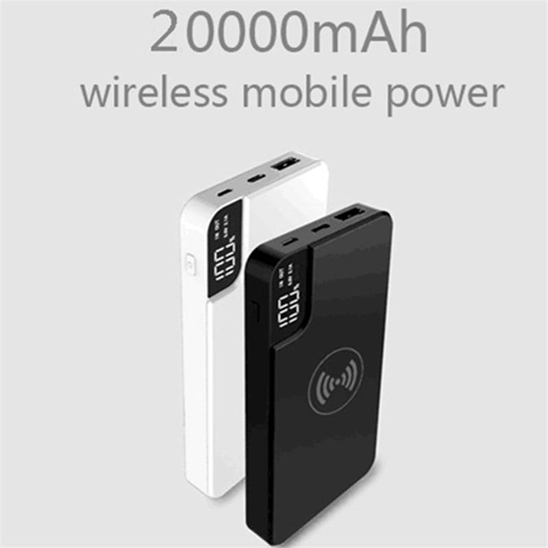 Qi Wireless Power Bank 20000ma...