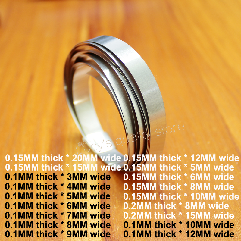 1M Nickel-plated Steel Belt 18650 32650 Battery Combination Nickel-plated DIY Spot Welding Nickel Strip 0.1/0.15/0.2 Thickness