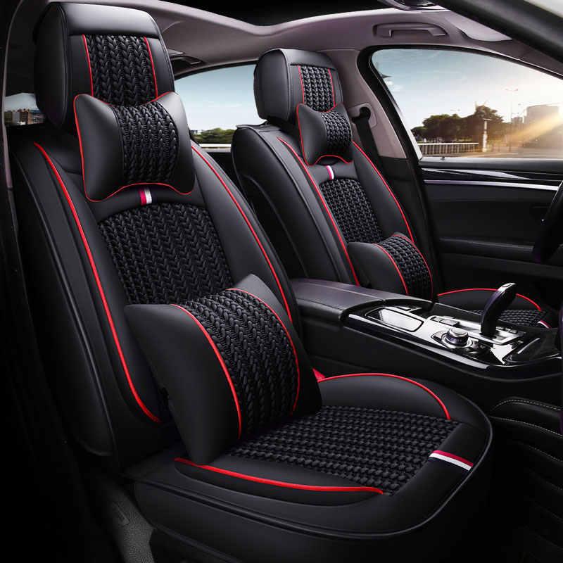 Mazda 3-de lujo acolchado cuero mirada cubiertas de asiento de coche-Conjunto Completo