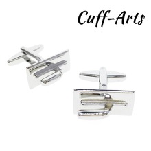Cufflinks for Mens Trowel Cufflinks Novelty Silver Shirt Cufflinks Tie Clip Gifts for Men Mancuernas by Cuffarts C10231 все цены