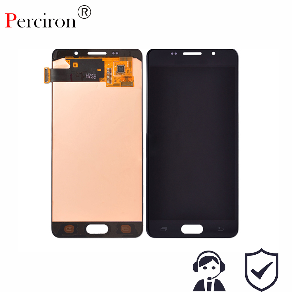 New For Samsung Galaxy A5 A510 2016 Lcd Screen Display with Digitizer Touch Assembly For Samsung Galaxy A5 2016 A510F 100% brand new screen for samsung galaxy a9 a9000 a900 lcd display with touch digitizer tools assembly 1 piece free shipping