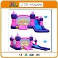 500*350 cm crianças residencial princesa salto inflável pulando castelo inflável
