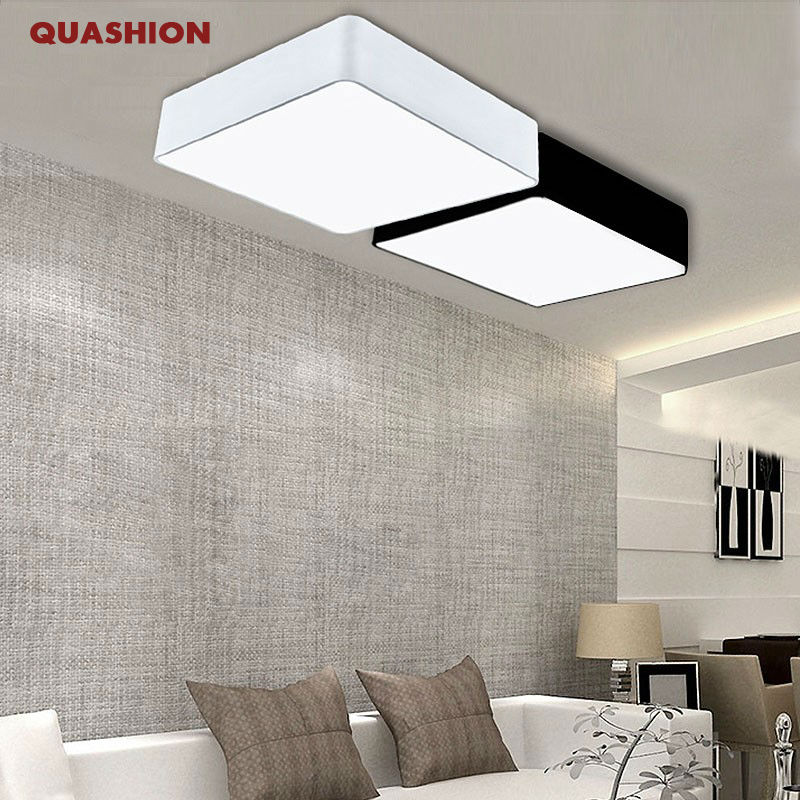Modern Minimalism Rectangle Diy Led Ceiling Lights For