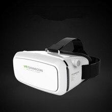 สีขาวสีVR SHINECON 3Dแว่นตาหมวกกันน็อกที่มีเกมคอนโซลกระจกวิเศษVRกล่องโทรศัพท์3Dแว่นตาเสมือนจริงแท้