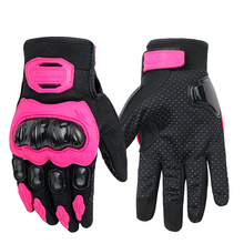 Riding Tribe Winter Motorcycle Gloves Moto Pink Skiing Windproof Gloves Anti-skid Touch Screen Guantes Moto Riding Gloves недорого