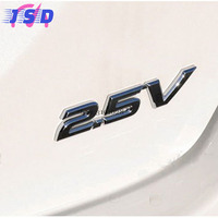 Car Styling 3D Metal Auto Body Stickers Badge Emblem Decals For 2 5V Logo For Toyota