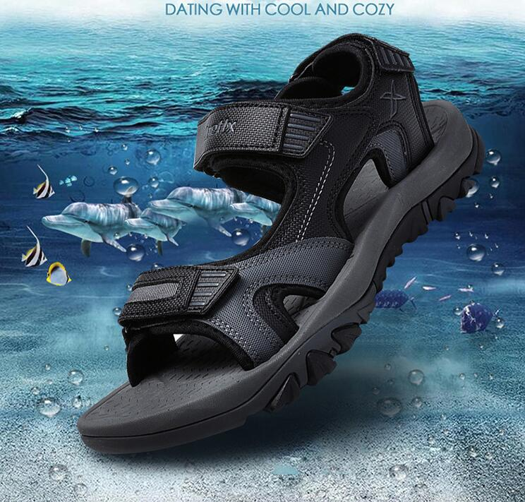 2018 new summer men's sandals factory wholesale sandals cross-country explosion men's beach shoes 40-45