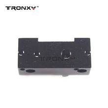 3D printer extruder motor mount block with u-shaped trough idler pulley block for P802 MK7 MK8