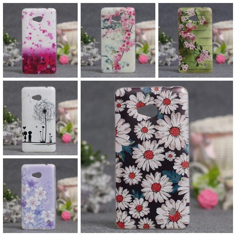 Galleria fotografica 3D Relief Soft TPU Case For Microsoft Nokia Lumia 640 N640 Cover Back Protect Skin Phone Silicon Cover for Lumia 640 Case Coque