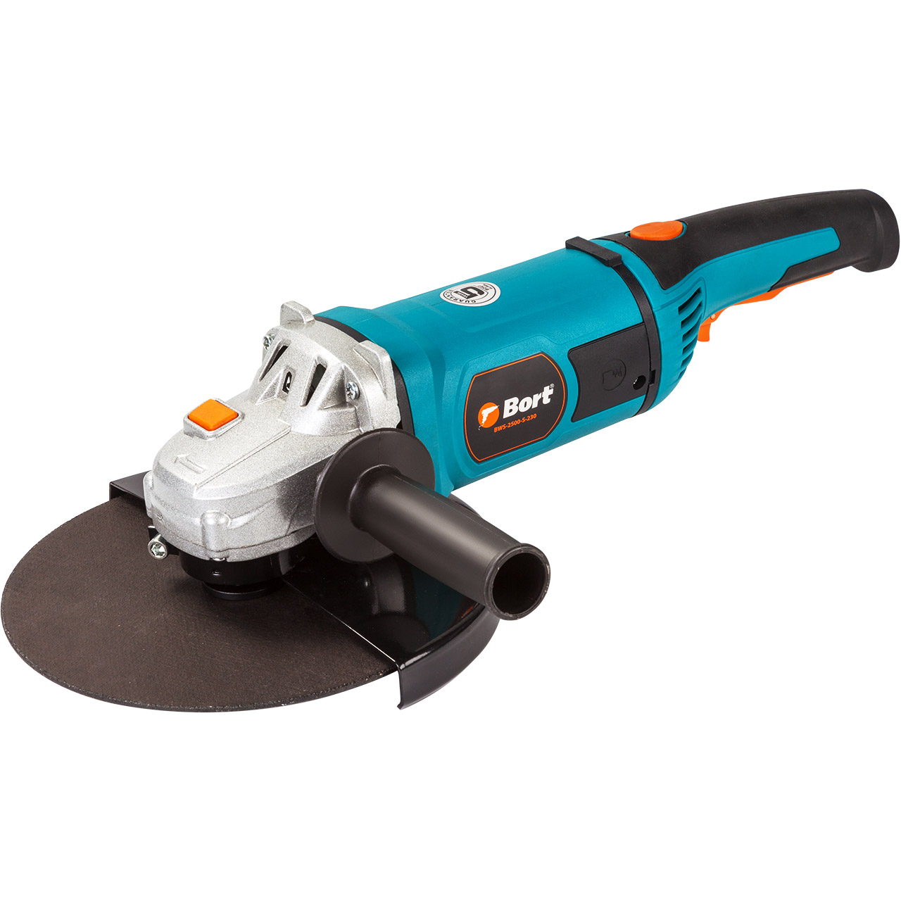 BORT Angle Grinder bulgarian USHM Grinding machine Electric grinder Angle Grinder grinding Power or cutting metal portable Woods Steel Power Tool Warranty BWS-2500-S-230 angle grinder energomash ushm 90112