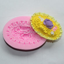 1 pçs forma de flor molde de bolo de silicone molde de chocolate kitchentools