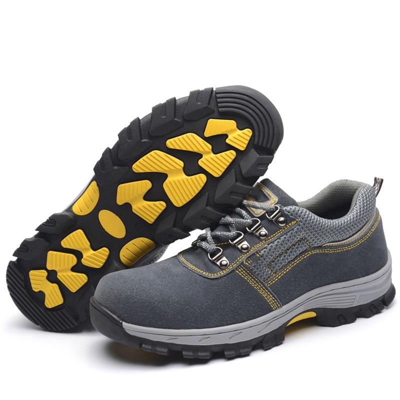 Stetig Ac13001 Männer Und Frauen Arbeit Versicherung Schuhe Smash Proof Piercing-proof Tragbare Atmungsaktive Und Tragen-beständig Sicherheit Schuhe Atemschutzmaske