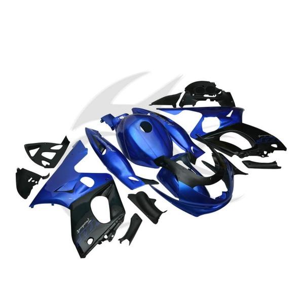 Синий Новый ручной АБС Кузов комплект Обтекателя для YAMAHA YZF600 YZF600R 1997-2007