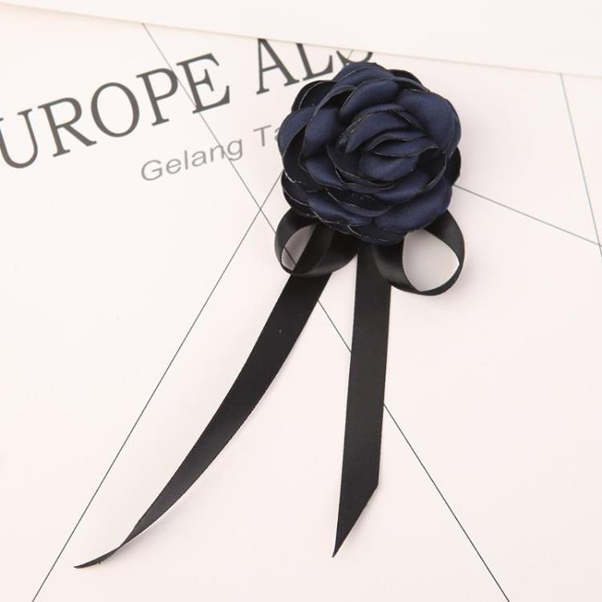 Women bowtie girls BowTies brooch for Female College Student Bank Hotel Staff Bow Tie Beautiful Butterfly Neck Tie with ribbon in Women 39 s Ties amp Handkerchiefs from Apparel Accessories