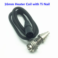 E nail 16MM Heater Coil Fit For 16mm/20mm Domeless Titanium Nail Quartz Nail E Dab Nail