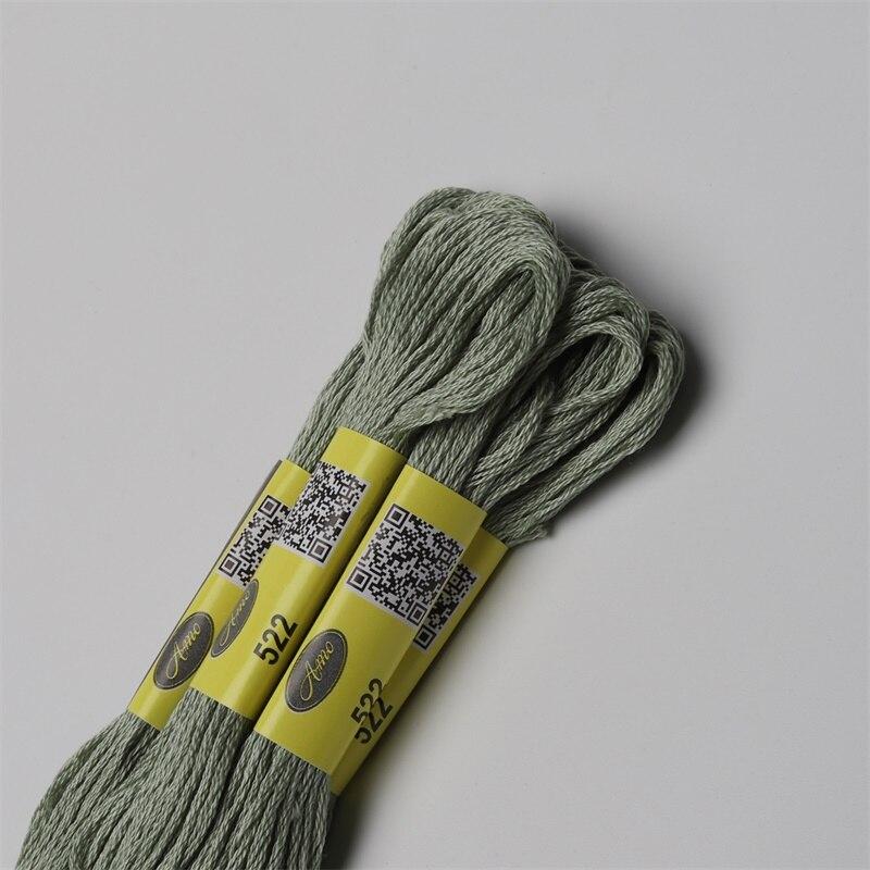 DMC Hilo de Algodón Trenzado Color 3760 para el bordado /& Cross Stitch