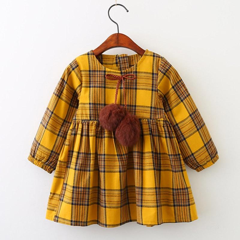 HTB1wBZwdvWG3KVjSZPcq6zkbXXaY Melario Girls Dresses Fashion Kids Girl Dress Printing Long Sleeve Princess Dress Casual Kids Dresses Floral Children's Clothing