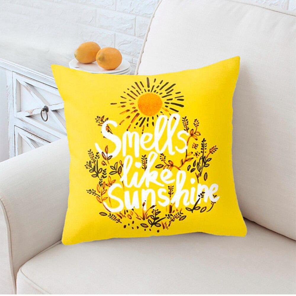 HTB1wB AXBGw3KVjSZFwq6zQ2FXai Polyester Geometric Cushion Yellow Pineapple Pillow Decorative Cushion for Sofa DIY Printed Pillow Seat Chair Cushion