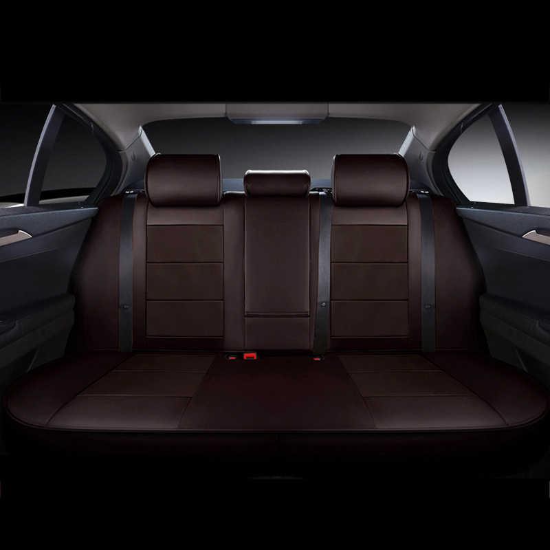 CARTAILORหนังแท้รถยนต์ที่นั่งครอบคลุมสำหรับBMW 5ชุดปกที่นั่งรถCowhideเบาะรองรับที่นั่งอัตโนมัติป้องกัน