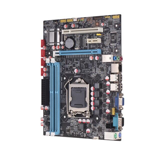 H55 материнская плата Новый LGA1156 DDR3 Sup Порты I3 I5 I7 материнская плата PCI-Express Порты usb материнская плата основная плата для компьютера