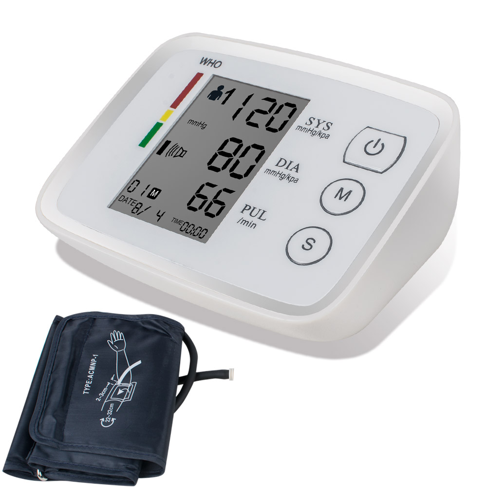2017 New Automatic Upper Arm Digital Blood Pressure and Pulse Monitor Test Health Care usb charger digital upper arm blood pressure pulse monitors tonometer portable health care monitor meters sphygmomanometer