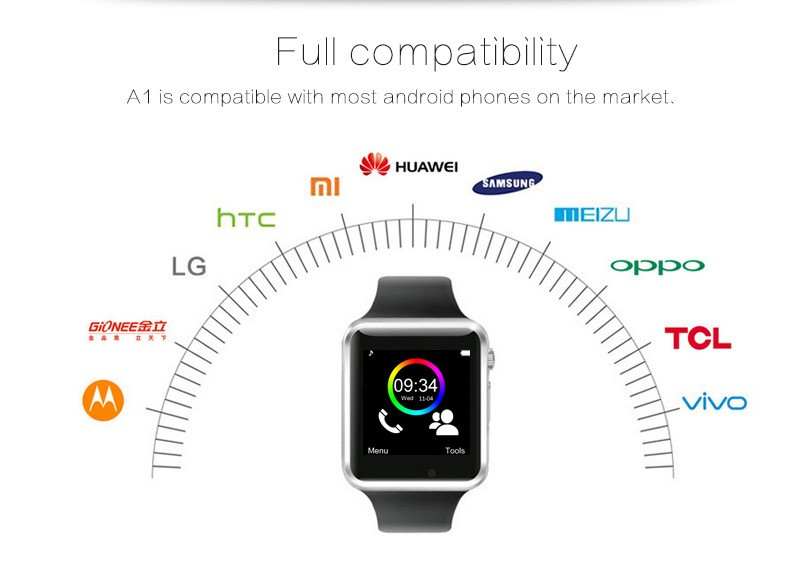 A1 WristWatch Bluetooth Smart Watch 0043