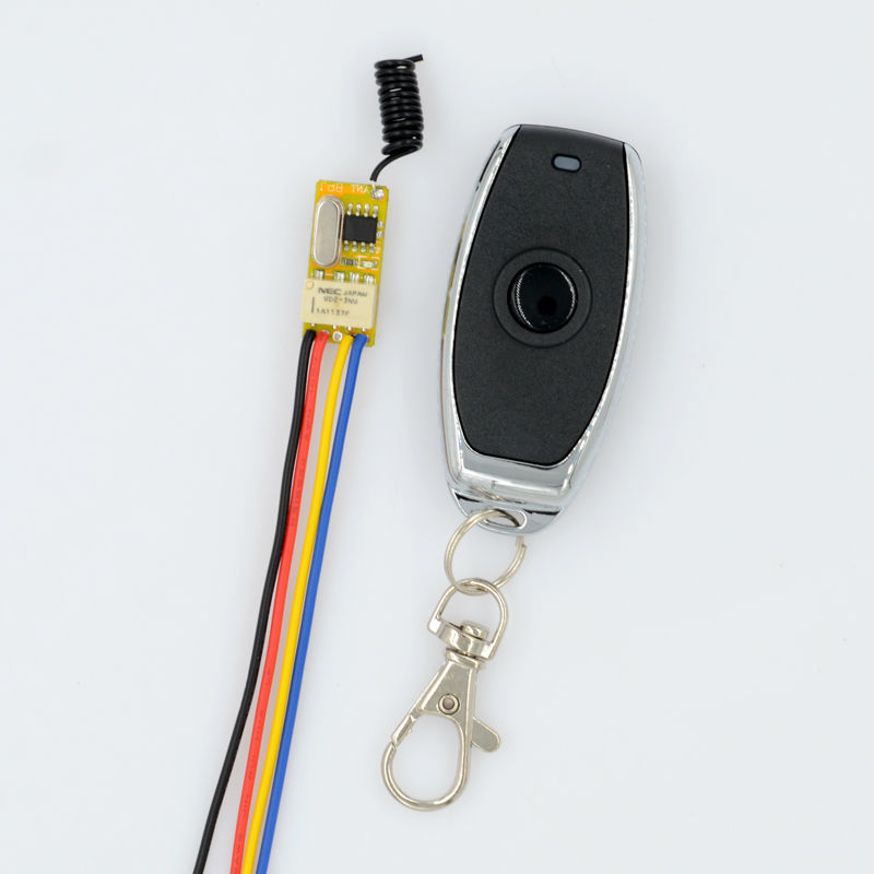 Micro Relay Wireless Remote Control Switch ASK Smart Home RF Mini Receiver Transmitter DC 3.7V 5V 9V 4.2V 12 50PCS/LOTV