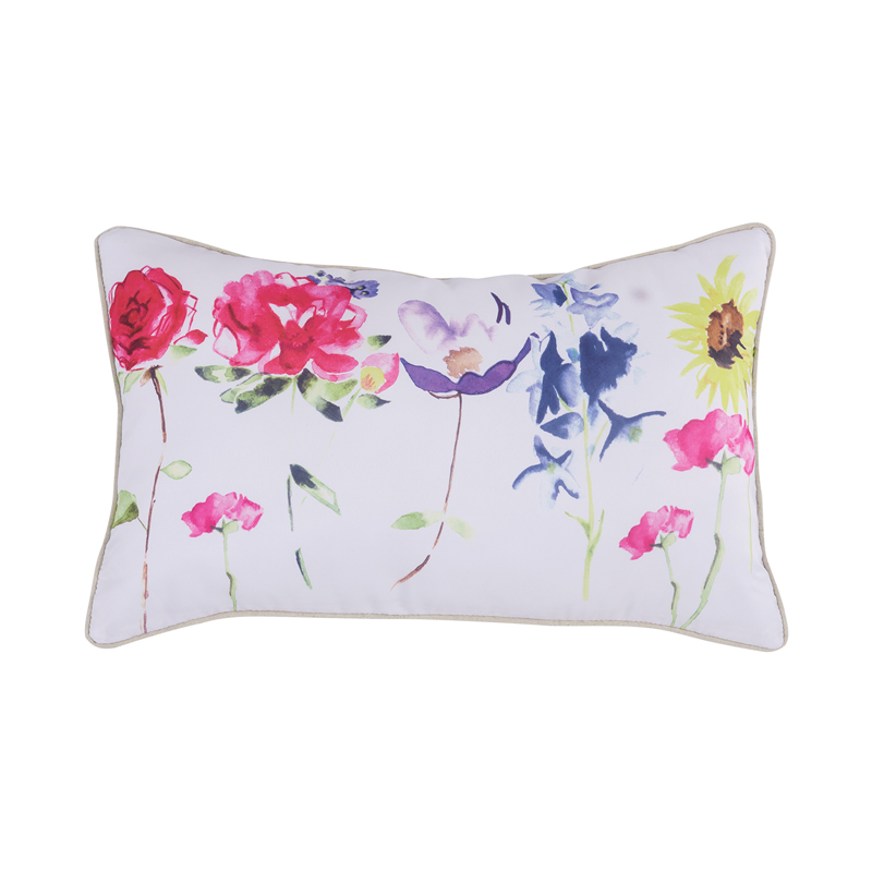 ᗗHome Pillow Decoration Cojines Emoticonos Bed Chair Sofa