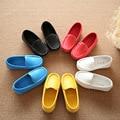2017 весной и осенью мода кожа мягкая кожа мальчики и девочки дети принцесса обувь детская школа обувь кожа кожа