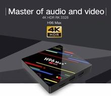 купить H96 MAX+ Plus RK3328 4K Media player Smart Set Top BOX Android 9.0 Quad Core TV box Support  IPTV HDMI по цене 1976.08 рублей