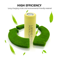 1/2/4/6/8/10 Pieces Rechargeable 3.7V Yellow Flat-top 18650 Batteries 3.7 V 2500mAh 18650 Lithium Li-ion Battery Replacement 2