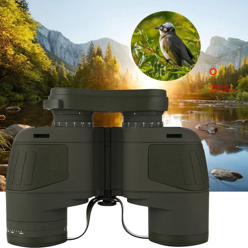Professional Focusing Military Telescope Binoculars With Electronic Compass Waterproof Fogproof Floating Telescope