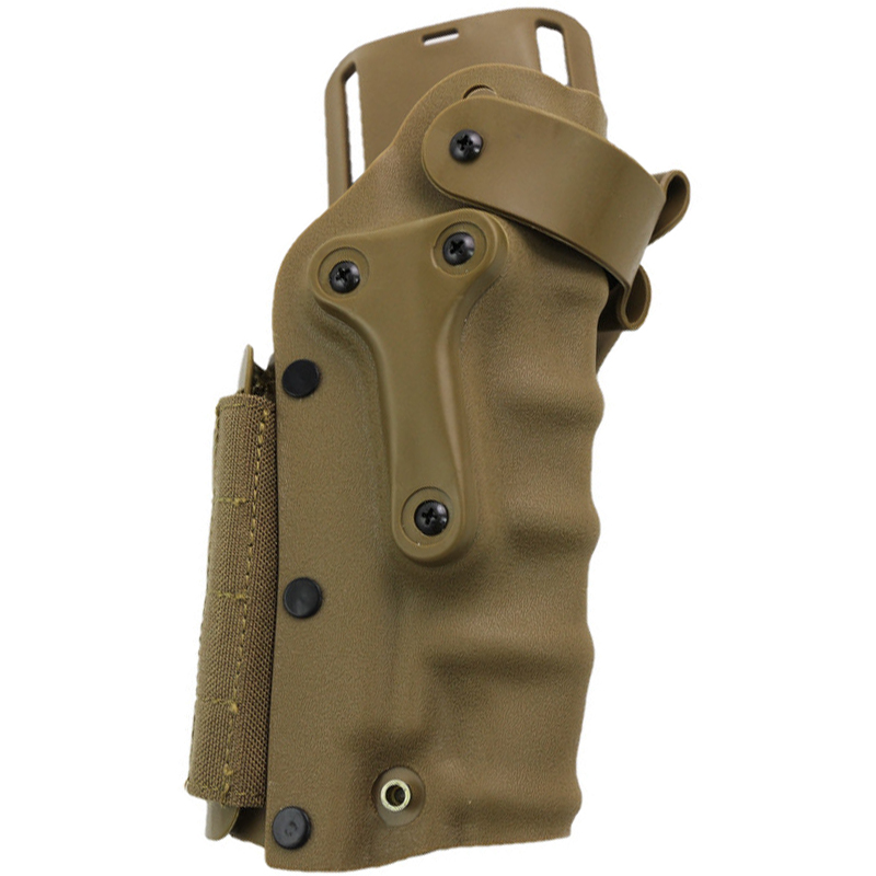 Tactical Hunting Right & Left Handed Gun Pistol Holster Universal Ipsc For Gl 17 Colt 1911 M9 M92 HK USP Sig P226 Tan