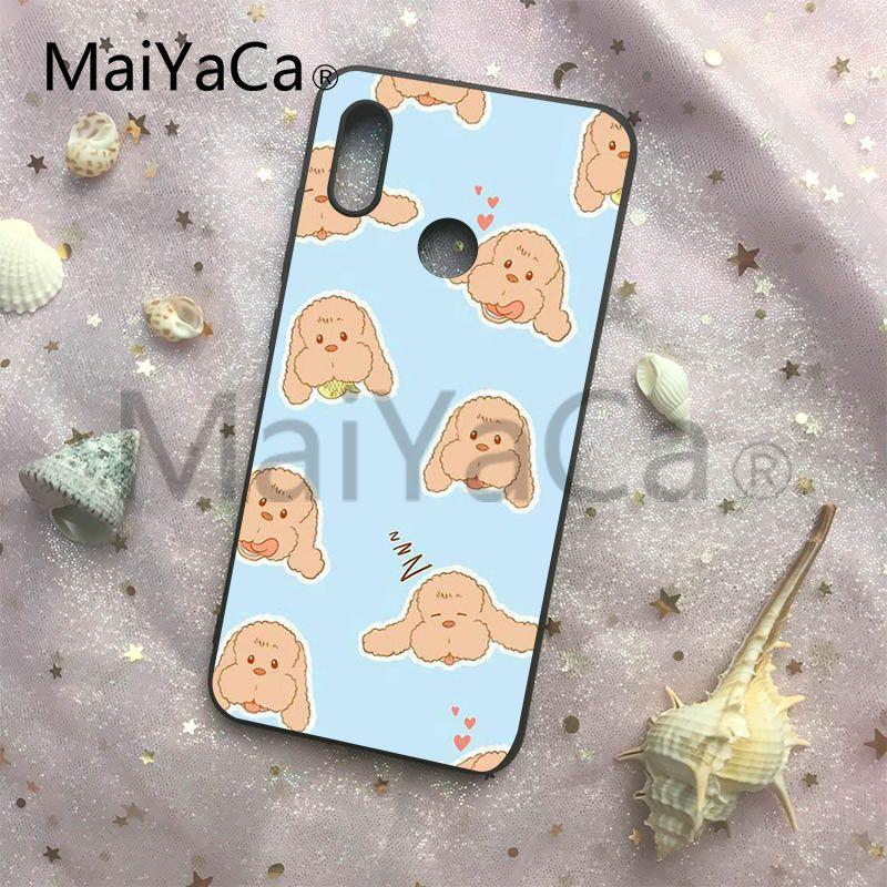 MaiYaCa Yuri on Ice Makkachin Black Soft Cases For Redmi Note 4 5 Redmi 5 5plus Xiaomi 6 6plus 6X 8 8SE MI Note2 3 Phone Cover