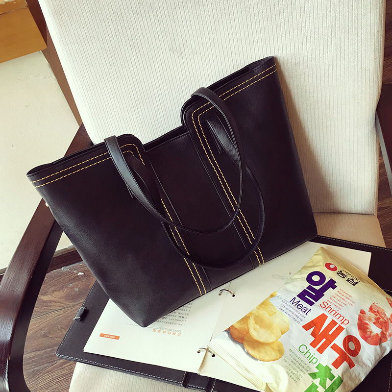 Genuine Leather Fashion Women Handbag High Quality Female Casual Tote Bag Office Ladies Business Purse