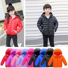MUQGEW 2019 New Children Jacket Solid Hooded Winter Jacket For Girls Long Sleeve Keep Warm Autumn Coat For Girls Casaco Infantil(China)