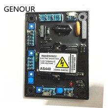 AS440 AVR para alternador sin escobillas generador de alta calidad repuestos regulador de voltaje automático