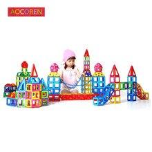Aocoren 62 Шт. 66 Шт. Магнитного Создатель Модель Блоки Игрушки Magformers Образовательных Строительный Кирпич Игрушки Для детей Подарки