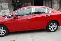 Stainless Steel Chrome Full 22pcs Window Sill Belt Line Moulding Trim Set Fit For Honda Civic