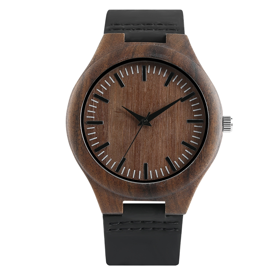 Elegant Bamboo Watch Men Fashion Casual Quartz Wooden Wristwatch Gift for Women Relogio Feminino Mens Watches Top Brand Luxury цена