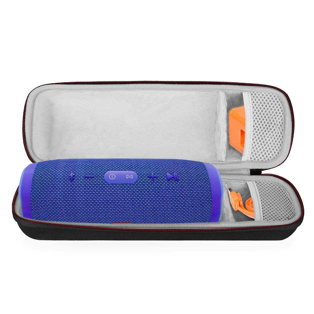 Newest Charge 3 Case EVA Hard Travel Protective Pouch Bags Storage Cover for JBL Charge 3 Charge3 Extra Space For Plug & Cables