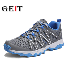 Unisex Hiking Shoes Waterproof Breathable Outdoor travel shoes Autumn Non-slip Sneakers Trekking Shoes Female Climbing Shoes