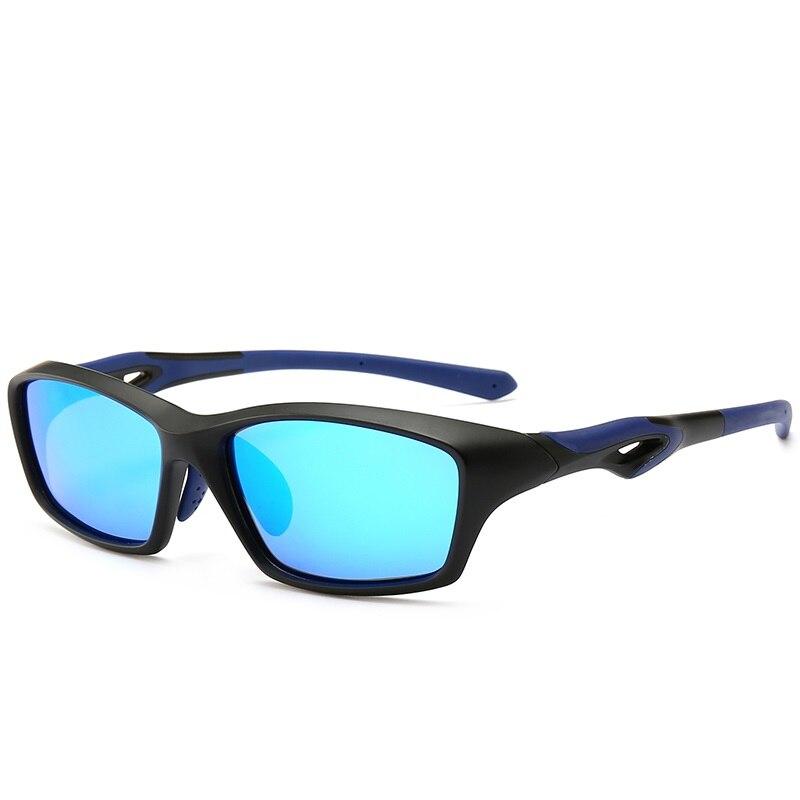 Cubojue TR90 lunettes de soleil polarisées pour hommes lunettes de soleil Sport pour homme lunettes Polaroid en miroir conduite des nuances de course UV400