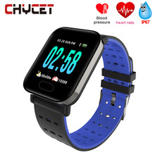 a6c8dbc98d0 Smart Watch A6 Heart Rate Monitor Fitness Tracker Blood Pressure Smartwatch  Waterproof GPS Pedometer Watch For