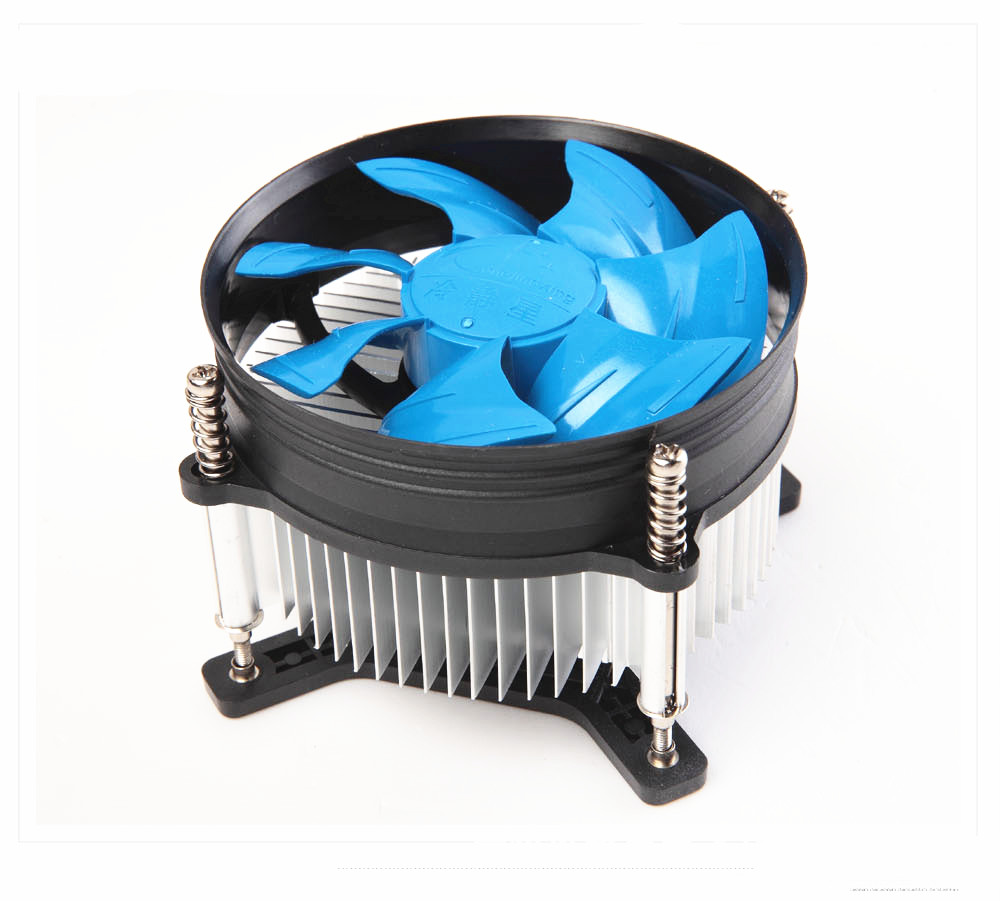 Desktop Computer PC LGA font b 775 b font CPU Heatsink Cooler Fan copper core 4Pin