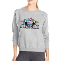 Jungle Womens Hoodies 2017 Autumn Winter Fleece Women S Tracksuit Animal Sweatshirt Female Fleece High Quality