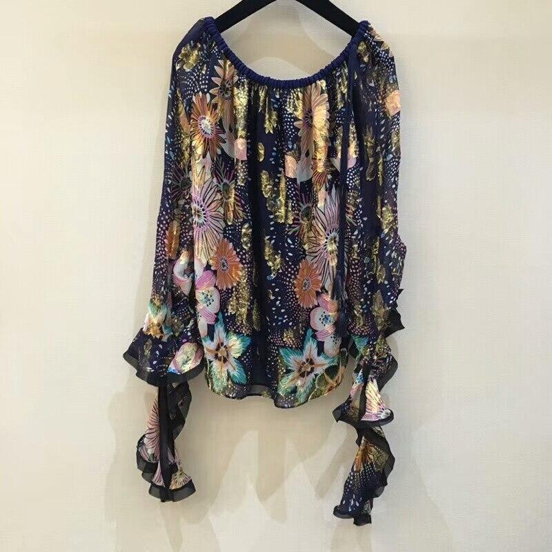 Blusas mujer de moda 2018 100% slik с длинным рукавом офисная блузка удобный топ Женская весна лето блузка рубашка универсальная ссылка