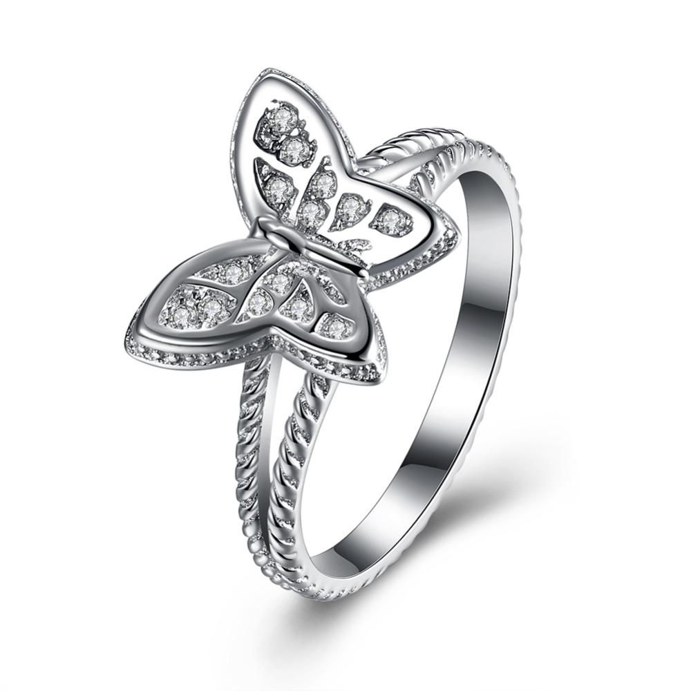 diamond+engagement+rings+butterfly butterfly wedding rings Diamond engagement rings butterfly Robert Leser Butterfly Diamond Engagement Ring In 18k White Gold 1